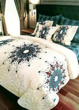 Двухспальной комплект постельного белья из бязи голд