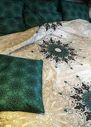 Двухспальной комплект постельного белья из бязи голд2 фото