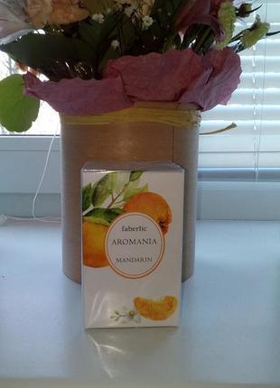 Туалетная вода faberlic aromania mandarin 30 ml