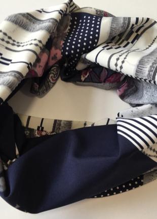 Хомут весенний шарф снуд