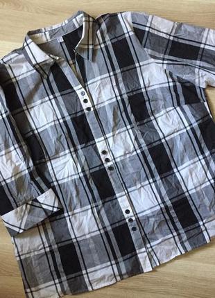 Рубашка клетка#195
