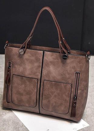 Винтажная сумка женская / сумка-мессенджер  dames crossbody