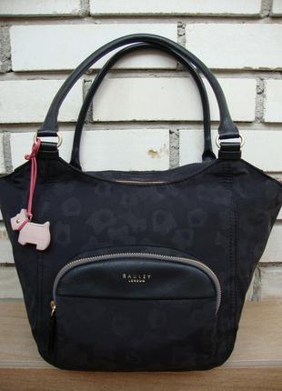 Фірмова англійська текстильна сумка radley. оригінал!!!