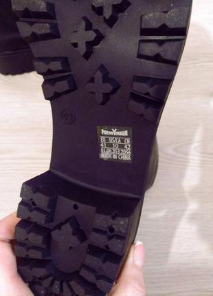 Черные ботинки, последняя пара5 фото