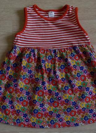 Яркое платье на 2-3 года mini club