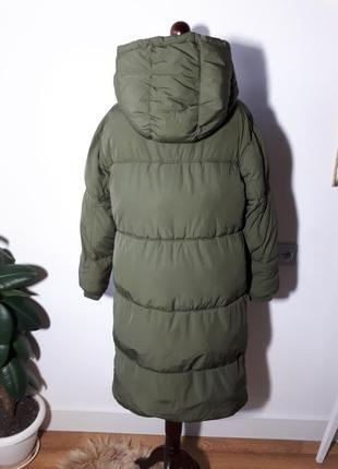 Теплое легкое пальто дутик zara3 фото