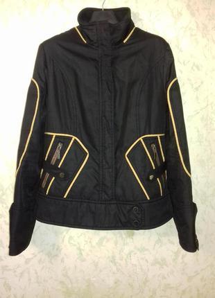 Брендовая демисезонная спортивная  куртка snow image 38 размер