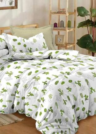 Комплект постельного белья из натурального сатина
