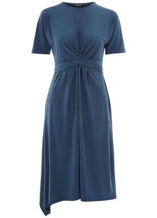 Оригинальное платье цвета морской волны topshop2 фото