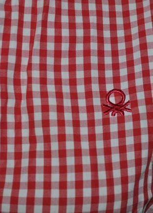 Рубашка в клетку крутого бренда2 фото