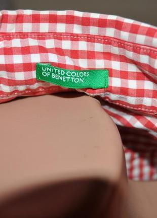 Рубашка в клетку крутого бренда3 фото