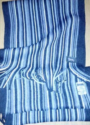 Lonsdale шарф с бахромой
