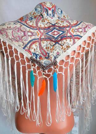 Новый платок-накидка,косынка angelina de paris, оригинал!