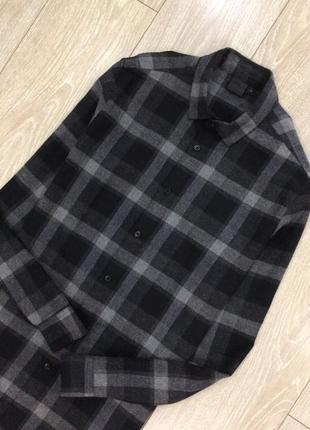 Рубашка котоновая в клетку asos