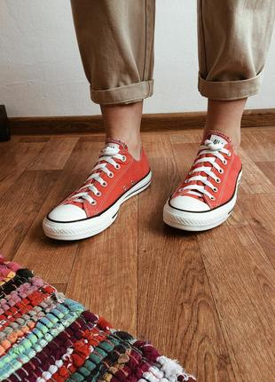 Идеальные красные converse ❤
