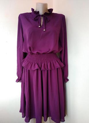 Платье на корсетной резинке