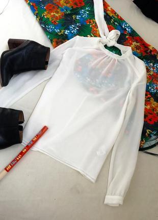 Блуза топ с открытой спиной