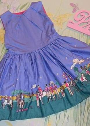 Красивенное платье 3-4 года рост 98-104