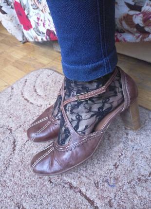 Туфли босоножки кожа акция 1+1=3