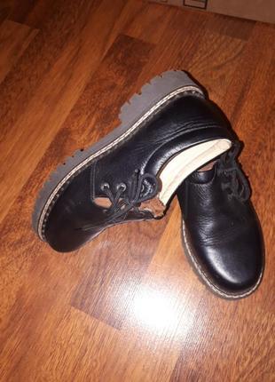Кожанные туфли richter 33