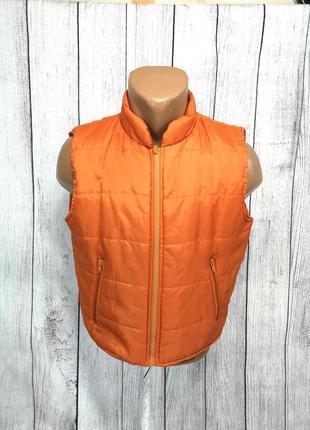 Безрукавка active wear, оранжевая