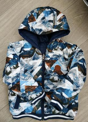 Куртка двухсторонняя на 12-24 мес