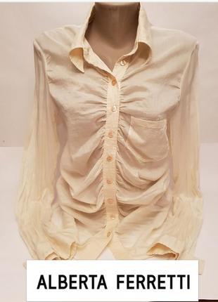 Красивая стильная блуза#рубашка philosophy alberta ferretti люкс бренда