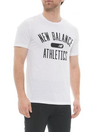 Футболка new balance mt83066 s, m
