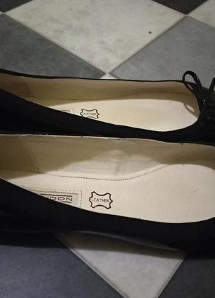 Кожаные туфли балетки от buffalo2 фото