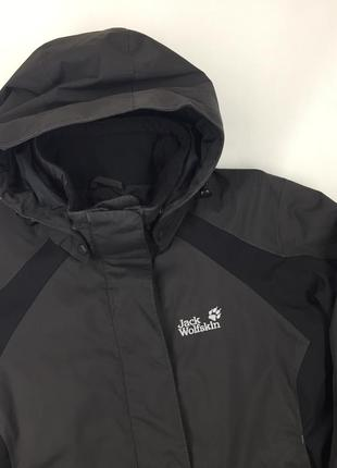 Женская фирменная утеплённая куртка jack wolfskin texapore оригинал