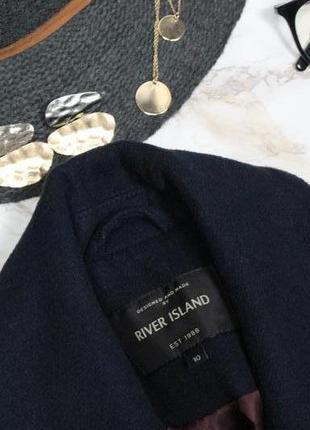Обнова! пальто укороченное куртка синее комби вставки эко кожа шерсть в составе качество7 фото