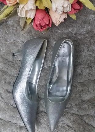 Классические туфли лодочки на каблуке, вечерние туфли 6/39 от barratts