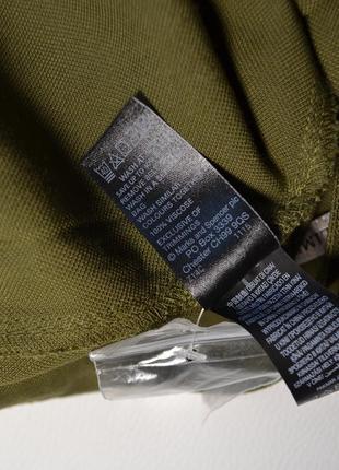 Премиальные широкие брюки-палаццо хаки8 фото