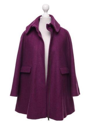 Обнова! пальто пурпур шерсть альпака cos качество люкс2 фото
