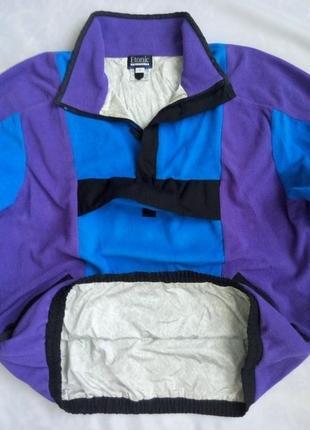 3223e951 Флисовый анорак etonic с мембраной gore xcr демисезонная куртка ветровка