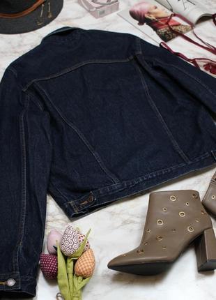 Обнова! джинсовка джинсовый пиджак куртка оверсайз унисекс классика качество коттон люкс9 фото