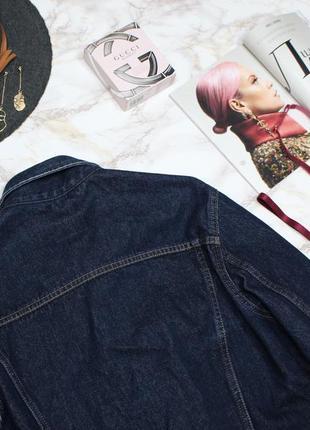 Обнова! джинсовка джинсовый пиджак куртка оверсайз унисекс классика качество коттон люкс8 фото