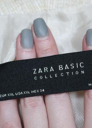 Обнова! блейзер пиджак удлиненный пальто натуральный коттон качество люкс бренд zara3 фото