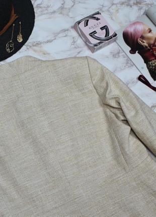 Обнова! блейзер пиджак удлиненный пальто натуральный коттон качество люкс бренд zara7 фото