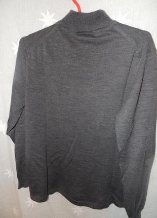 Теплый шерстяной качественный свитер your 6 sense pure wool m