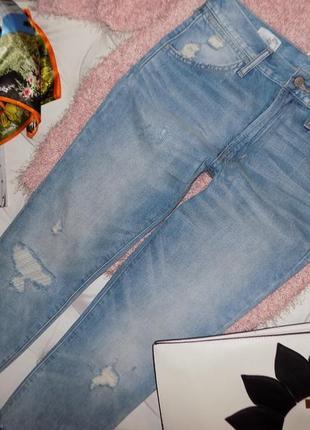 Gap, укороченные бойфренды, джинсы3 фото