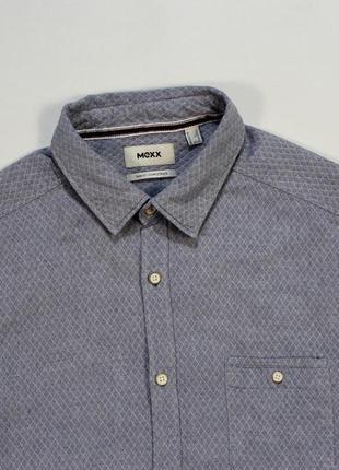 Четкая незаурядная приталенная стеганая рубашка от mexx