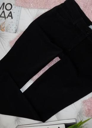 14 р-ра шикарные повседневные брючки-джинсы ровного кроя1 фото