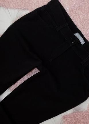 14 р-ра шикарные повседневные брючки-джинсы ровного кроя4 фото