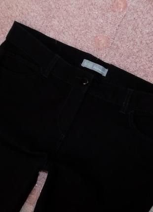 14 р-ра шикарные повседневные брючки-джинсы ровного кроя5 фото