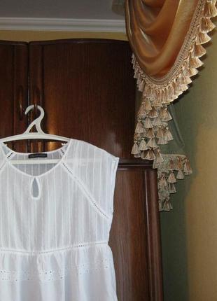 Блуза marks&spencer, 100% хлопок, размер 14/422 фото
