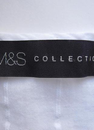 Блуза marks&spencer, 100% хлопок, размер 14/423 фото