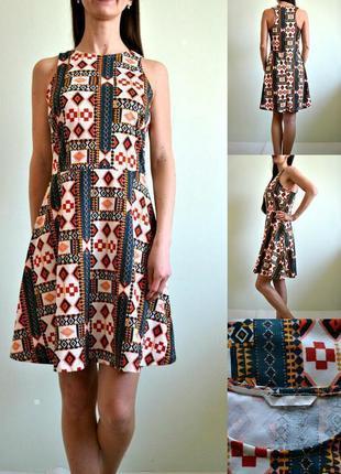 Стильное базовое трикотажное платье3 фото
