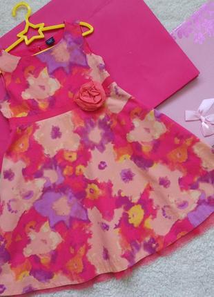 Красивое платье gap для девочки 3 года
