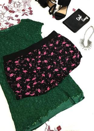 Крутые шорты фламинго   - акция 1+1=3 на всё 🎁9 фото